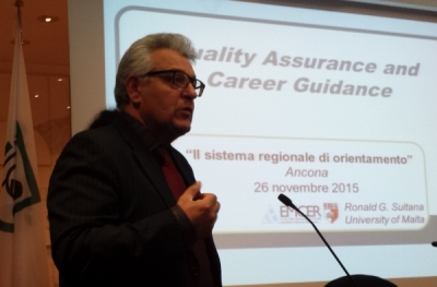 Quality, professionalism, technologies: the challenges of regional guidance systems Interview with Ronald Sultana.
