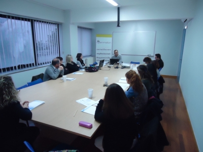 Focus group activities in Greece  by the Institute of Entrepreneurship Development
